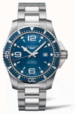 Longines Cadran bleu de plongée automatique Hydroconquest 44 mm L38414966