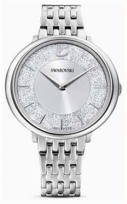 Swarovski Crystalline | bracelet en acier inoxydable | cadran argenté à paillettes 5544583