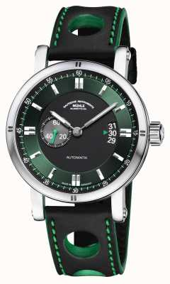 Muhle Glashutte Teutonia sport ii   bracelet de course noir M1-29-74-LB-S
