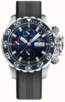 Ball Watch Company Ingénieur hydrocarbures nedu | bracelet en silicone noir DC3026A-P3C-BE