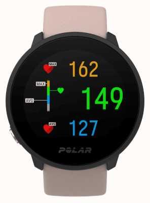 Polar | unir | bracelet en silicone blush | étui noir | 90084480