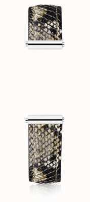 Michel Herbelin Antarès | Bracelet interchangeable en cuir de veau imprimé serpent uniquement BRAC.17048.53/A