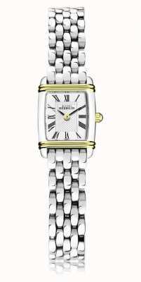 Michel Herbelin Art déco | bracelet en acier inoxydable pour femme | boîtier or / argent 17438/T08B
