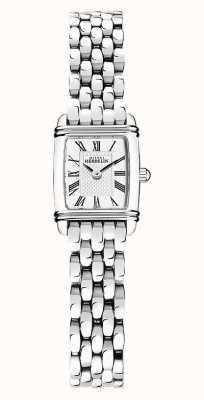 Michel Herbelin Art déco | bracelet en acier inoxydable pour femme | cadran blanc 17438/08B