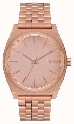 Nixon Time Teller | tout en or rose | bracelet en or rose | cadran en or rose A045-897-00