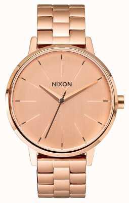 Nixon Kensington | tout en or rose | bracelet ip or rose | cadran en or rose A099-897-00
