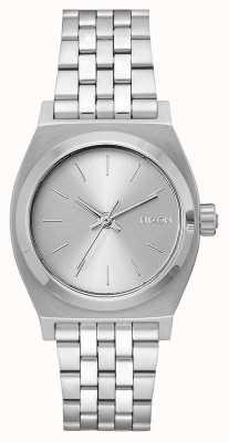 Nixon Caissier moyen   tout argent   bracelet en acier inoxydable   cadran argenté A1130-1920-00