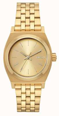 Nixon Caissier moyen | tout l'or | bracelet en acier ip or | cadran en or A1130-502-00