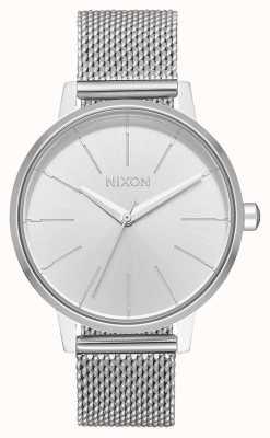 Nixon Kensington milanese   tout argent   maille en acier inoxydable   cadran argenté A1229-1920-00