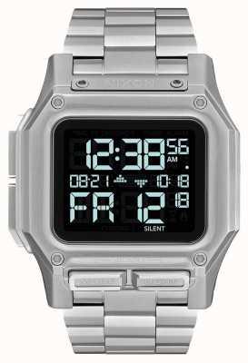 Nixon Regulus ss | noir | numérique | bracelet en acier inoxydable | A1268-000-00