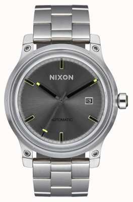 Nixon 5ème élément   noir   bracelet en acier inoxydable   A1294-000-00