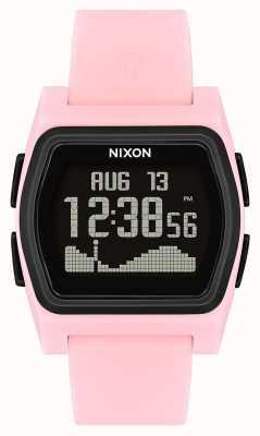 Nixon Rival   rose / noir   numérique   strao en silicone rose A1236-2531-00