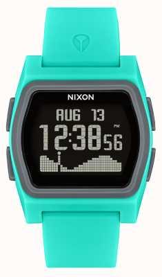 Nixon Rival   turquoise   numérique   bracelet en silicone turquoise A1236-309-00