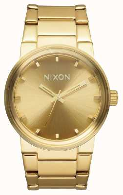 Nixon Cannon | tout l'or | bracelet en acier ip or | cadran en or A160-502-00