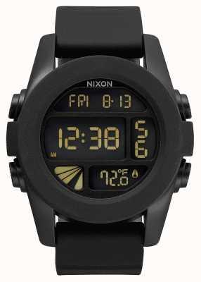 Nixon Unité | noir | numérique | bracelet en silicone noir | A197-000-00