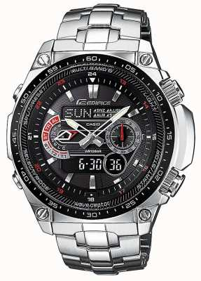 Casio Edifice vague ceptor radio-commandé alarme chronographe ECW-M300EDB-1AER