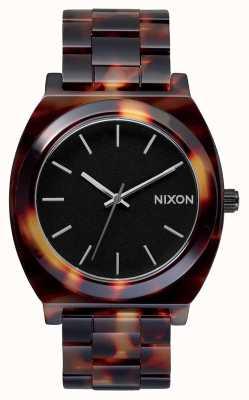 Nixon Time Teller acétate | tortue | cadran noir A327-646-00