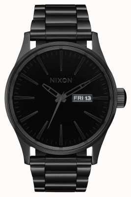 Nixon Sentry ss | tout noir / noir | bracelet en acier ip noir | cadran noir A356-1147-00
