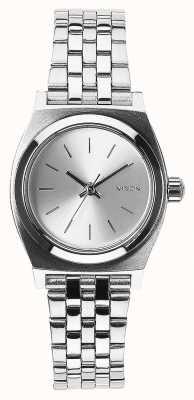 Nixon Petite caissière | tout argent | bracelet en acier inoxydable cadran argenté A399-1920-00