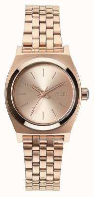 Nixon Petite caissière | tout en or rose | bracelet en acier ip or rose | cadran en or rose A399-897-00