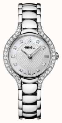 EBEL Béluga féminin | bracelet en acier inoxydable | cadran en nacre | ensemble de diamants 1216465