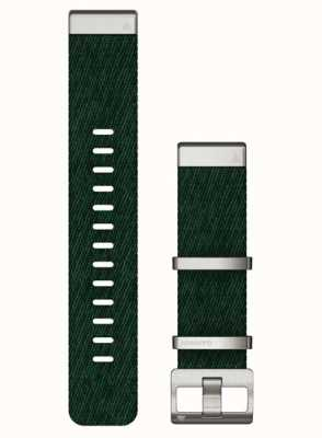 Garmin Bracelet vert en nylon tissé jacquard Quickfit 22 010-13008-00- NO BOX