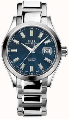 Ball Watch Company Ingénieur iii marvelight   acier inoxydable   cadran bleu NM2026C-S10J-BE