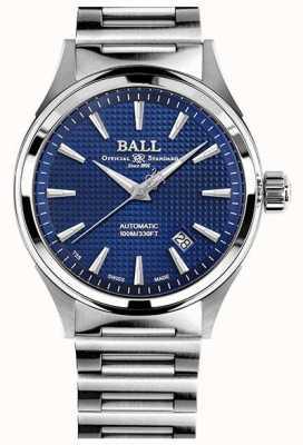 Ball Watch Company Victoire des pompiers | bracelet en acier | clous de paris bleu NM2098C-S5J-BE