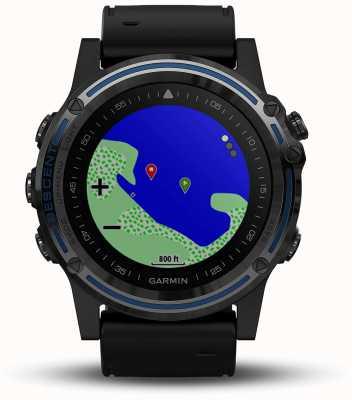 Garmin Ordinateur de plongée Descent mk1   saphir gris avec bande noire 010-01760-12