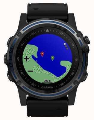 Garmin Ordinateur de plongée Descent mk1 | saphir gris avec bande noire 010-01760-12