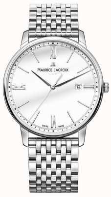 Maurice Lacroix Eliros pour hommes | bracelet en acier inoxydable | cadran argenté EL1118-SS002-113-2