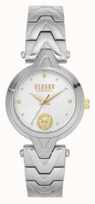 Versus Versace | femmes | v_versus forlanini | bracelet en acier inoxydable | cadran argenté | VSPVN0620