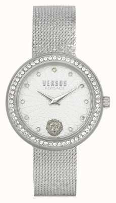 Versus Versace | femmes | lea | acier inoxydable | bracelet en maille | cadran argenté | VSPEN1420
