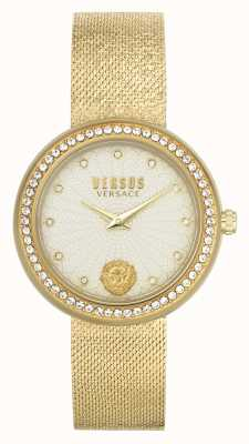 Versus Versace | femmes | lea | bracelet en maille d'or | cadran champagne | VSPEN1520