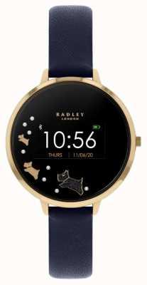 Radley Tracker d'activité Série 03 | bracelet en cuir bleu RYS03-2004