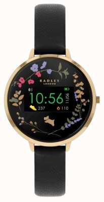 Radley Tracker d'activité Série 03 | bracelet en cuir noir RYS03-2010