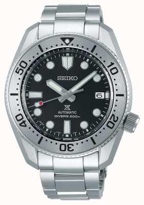 Seiko Réinterprétation de Prospex 1968 | bracelet en acier inoxydable | cadran noir | verre saphir SPB185J1