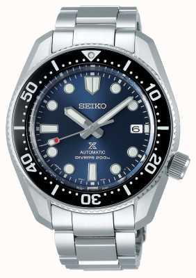 Seiko Réinterprétation de Prospex 1968 | bracelet en acier inoxydable | cadran bleu SPB187J1