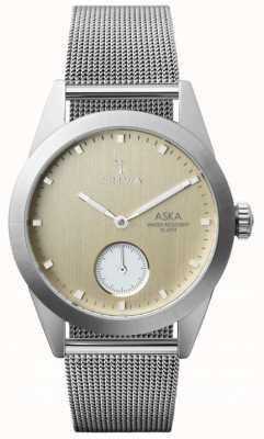Triwa Bracelet en maille ultra fine Aska en bouleau AKST104-MS121212