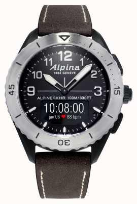 Alpina | alpinerx vivant | bracelet en cuir marron AL-284LBBW5SAQ6