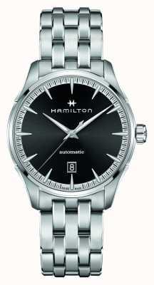 Hamilton Jazzmaster | auto | bracelet en acier inoxydable | cadran noir H32475130