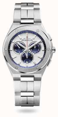 Michel Herbelin Cap camarat | chronographe | bracelet en acier inoxydable | 37645/B42