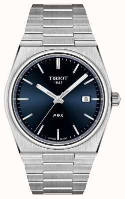 Tissot Cadran bleu quartz PRX 40 mm pour homme T1374101104100