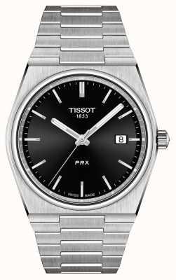 Tissot Cadran noir quartz prx 40 mm pour homme T1374101105100