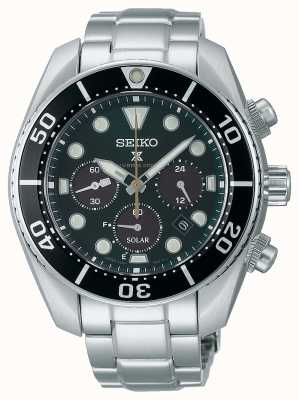 Seiko Montre chronographe solaire «sumo» Prospex «Island Green» en édition limitée SSC807J1