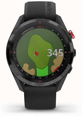 Garmin Approche s62   gps de golf   lunette cermamique   silicone noir 010-02200-00