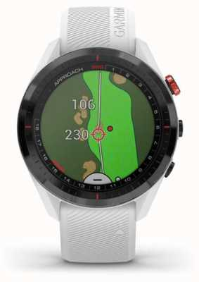 Garmin Approche s62 | golf | gps | lunette en céramique | silicone blanc 010-02200-01