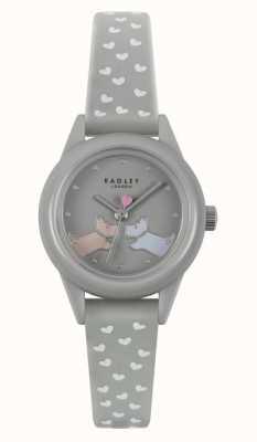 Radley Regarde ça! | bracelet en silicone gris pour femme | cadran gris RY21257