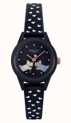 Radley Regarde ça! | bracelet en silicone marine pour femme | cadran marine RY21262