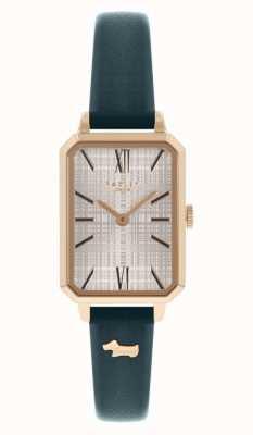 Radley Bracelet en cuir bleu marine pour femme | cadran blanc RY21206